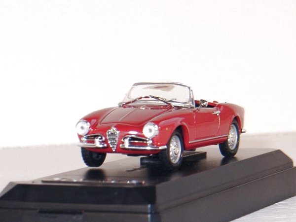 ALFA ROMEO Spider - 1958 - red - SOLIDO 1:43