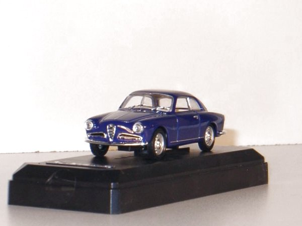 ALFA ROMEO Guilietta Sprint - 1960 - blue - SOLIDO 1:43