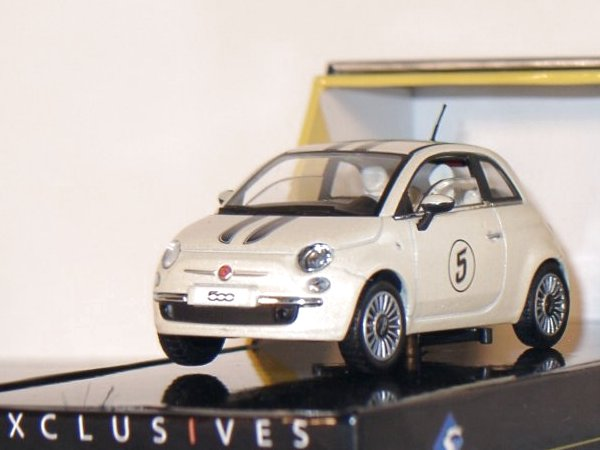 FIAT 500 - whitemetallic - SOLIDO 1:43