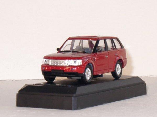 LAND ROVER Range Rover Sport - redmetallic - SOLIDO 1:43