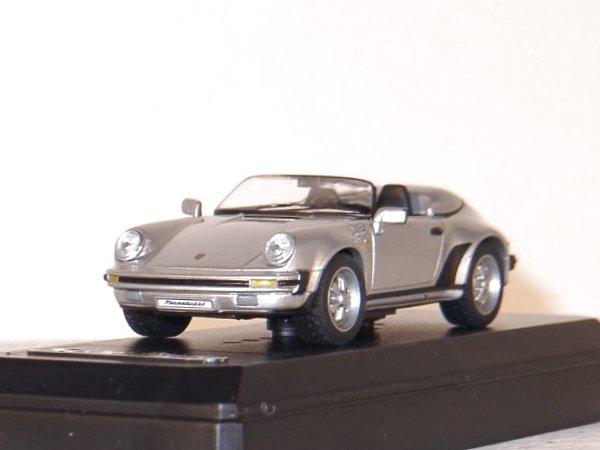 PORSCHE 911 Carrera Speedster - 1988 - silver - SOLIDO 1:43