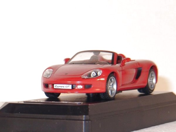 PORSCHE Carrera GT - 2001 - red - SOLIDO 1:43
