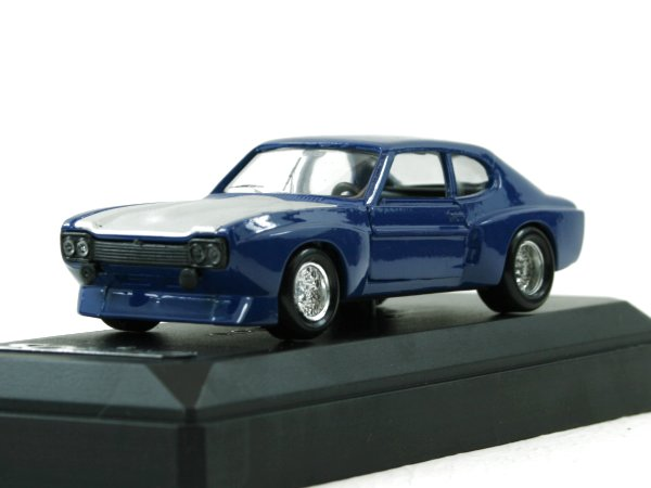 FORD Capri - 1973 - blue - SOLIDO 1:43