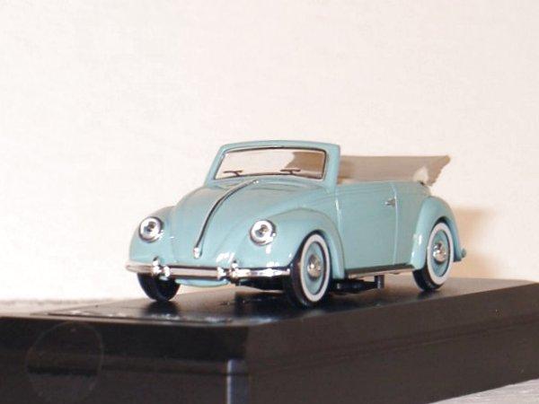 VW Volkswagen Käfer / Beetle - 1950 - turquoise - SOLIDO 1:43