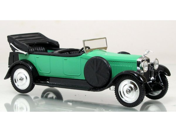 HISPANO Torpedo - turquoise / black - SOLIDO 1:43