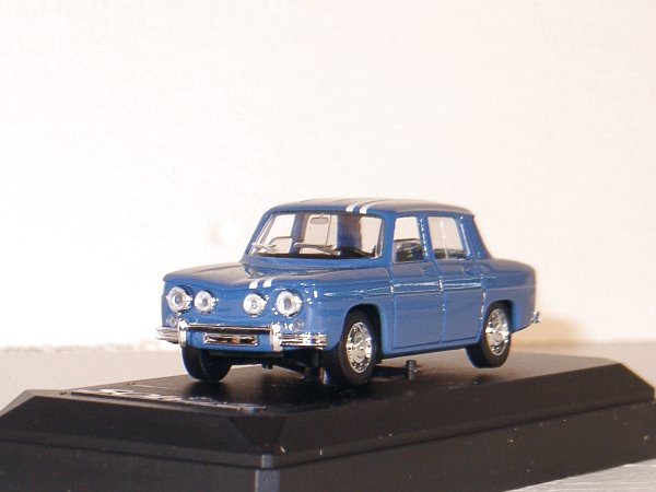 RENAULT 8 Gordini - 1967 - blue - SOLIDO 1:43
