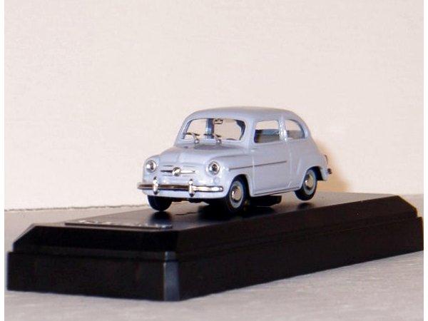 FIAT 600 D - 1963 - lightblue - SOLIDO 1:43
