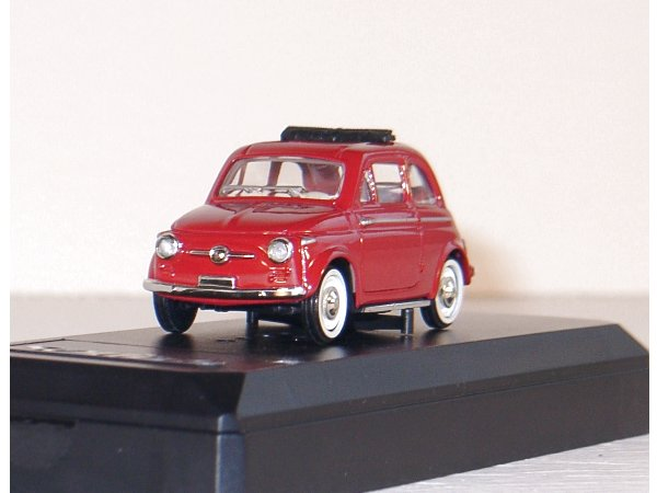 FIAT 500 - 1957 - red - SOLIDO 1:43