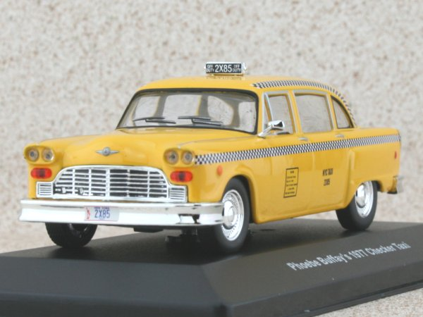 CHECKER Phoebe Buffay`s - FRIENDS - 1977 - Taxi Cab - Greenlight 1:43