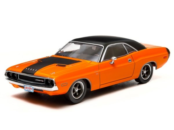 DODGE Challenger R/T - Fast & Furious - 1970 - darden`s - Greenlight 1:43
