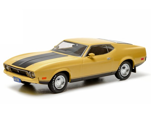 FORD Mustang ELEANOR - 1973 - yellow - Greenlight 1:43