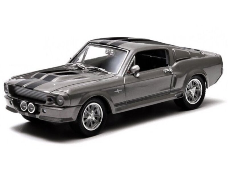 FORD Shelby Mustang GT - ELEANOR - 1967 - greymetallic - Greenlight 1:43