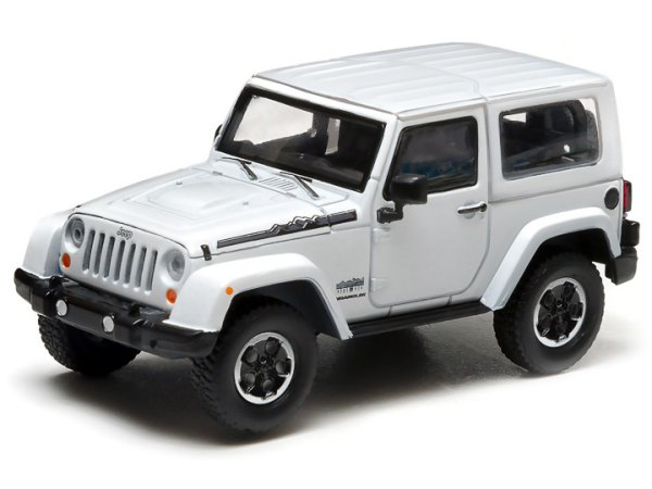 JEEP Wrangler - Polar - white - Greenlight 1:43