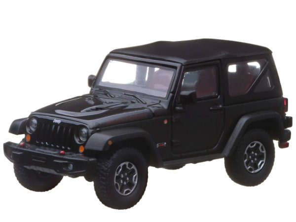 JEEP Wrangler Rubicon - 10 Years - black - Greenlight 1:43