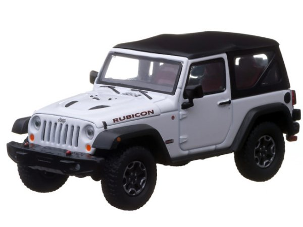 JEEP Wrangler Rubicon - 10 Years - white - Greenlight 1:43
