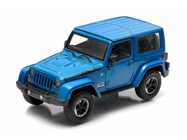 JEEP Wrangler - Polar - bluemetallic - Greenlight 1:43