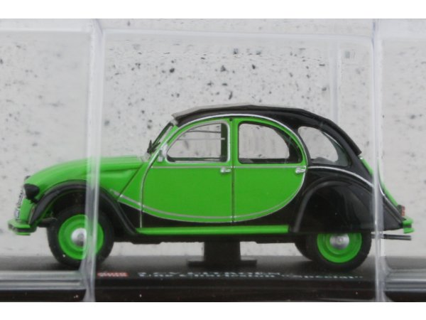 CITROEN 2 CV Charleston Special - green - ATLAS 1:43