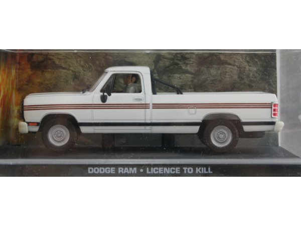 DODGE Ram - white - ATLAS 1:43