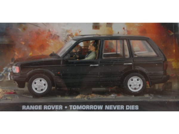 LAND ROVER Range Rover - black - ATLAS 1:43