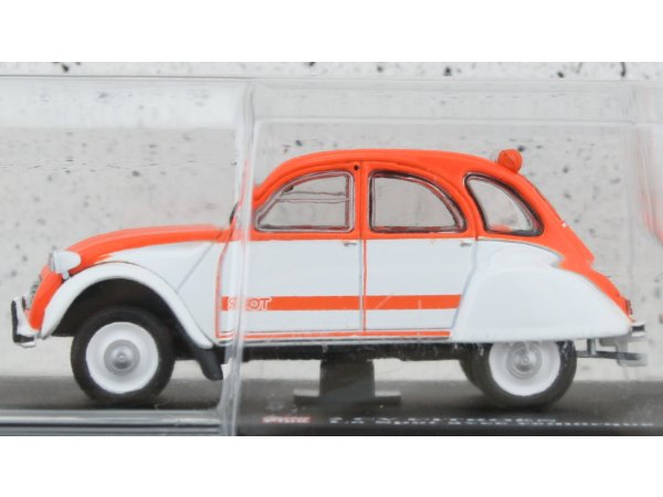 CITROEN 2 CV with Trailer - la Spot - ATLAS 1:43