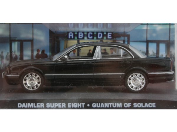 DAIMLER Super Eight - black - ATLAS 1:43