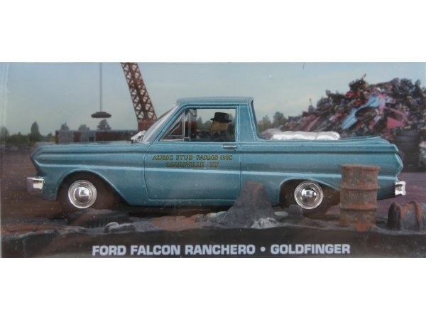 FORD Falcon - bluemetallic - ATLAS 1:43