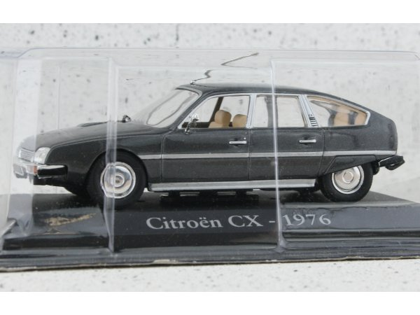 CITROEN CX - 1976 - greymetallic - ATLAS 1:43