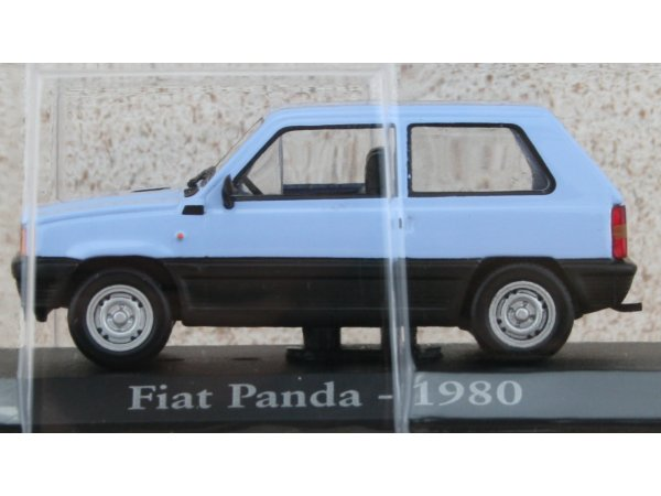 FIAT Panda - 1980 - lightblue - ATLAS 1:43