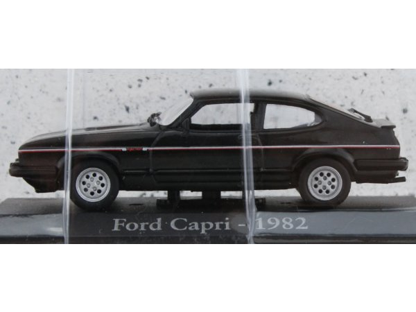 FORD Capri - 1982 - black - ATLAS 1:43