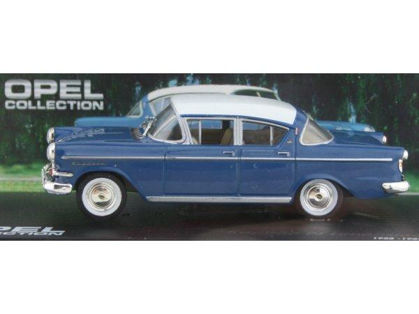 OPEL Kapitän PI Limousine - blue - ATLAS 1:43