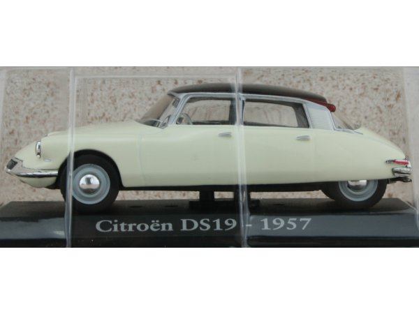 CITROEN DS 19 - 1957 - x - ATLAS 1:43
