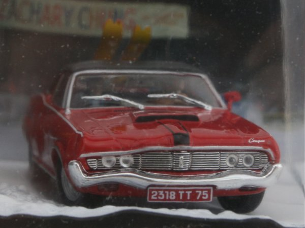 MERCURY Cougar - After Crash - ATLAS 1:43