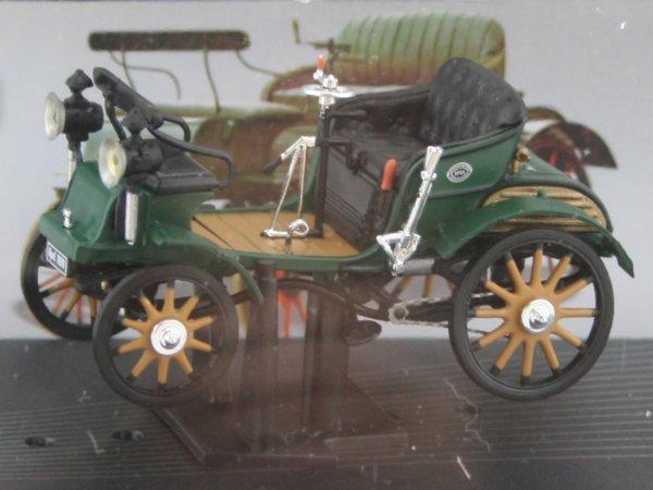 OPEL Motorwagen System Lutzmann - green - ATLAS 1:43