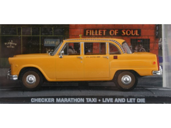 CHECKER Marathon - Taxi Cab - ATLAS 1:43