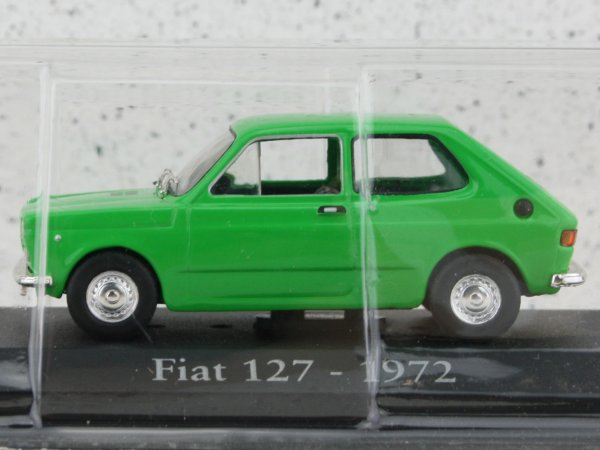 FIAT 127 - 1972 - green - ATLAS 1:43