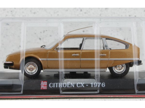 CITROEN CX - 1976 - goldmetallic - ATLAS 1:43