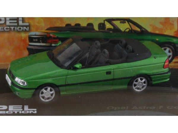 OPEL Astra F Cabrio - greenmetallic - ATLAS 1:43