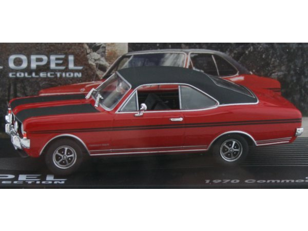 OPEL Commodore A Coupe GS/E - 1970 - red - ATLAS 1:43
