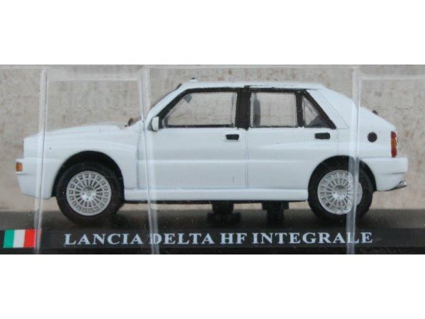 LANCIA Delta HF Integrale - white - ATLAS 1:43