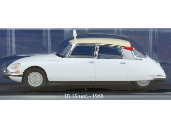 CITROEN ID 19 - 1968 - Taxi Cab - ATLAS 1:43