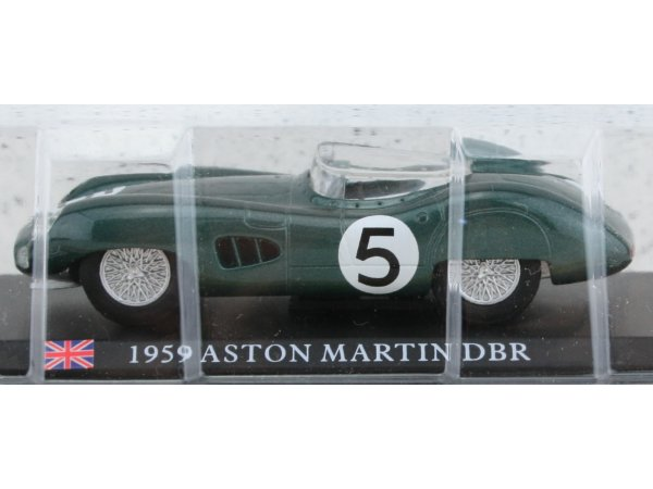 ASTON MARTIN DBR - 1959 - green - ATLAS 1:43