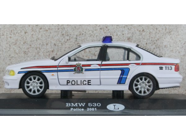 BMW 530 - 2001 - Police LU - ATLAS 1:43