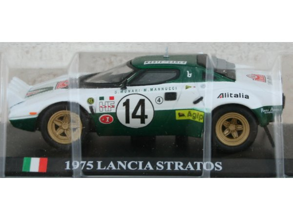 LANCIA Stratos - 1975 - #14 - ATLAS 1:43