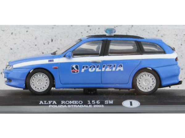 ALFA ROMEO 156 SW - 2003 - Police IT - ATLAS 1:43