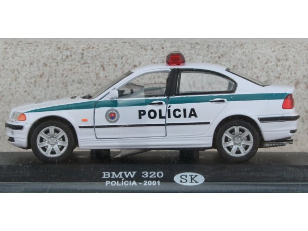 BMW 320 - 2001 - Police SK - ATLAS 1:43