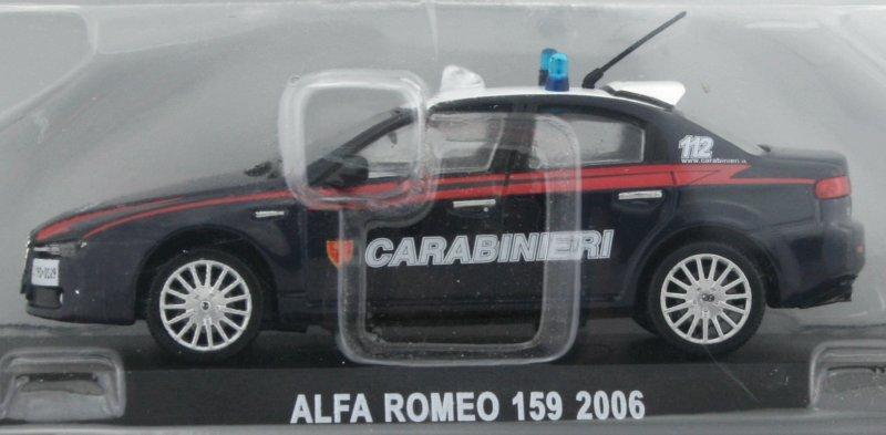 ALFA ROMEO 159 - 2006 - Carabinieri - Atlas 1:43