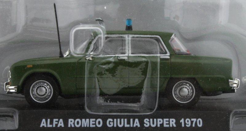 ALFA ROMEO Giulia Super - 1970 - Polizia - Atlas 1:43