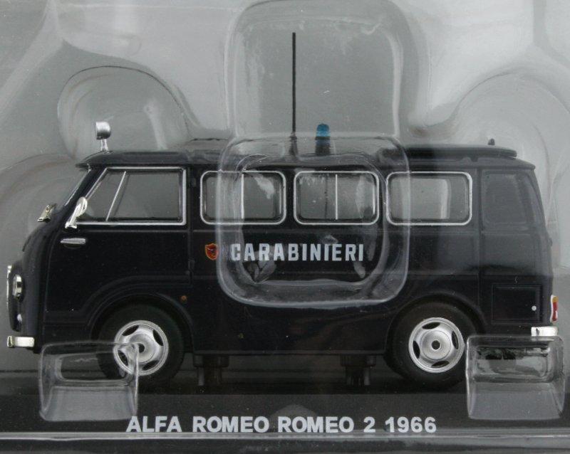 ALFA ROMEO Romeo 2 - 1966 - Carabinieri - Atlas 1:43