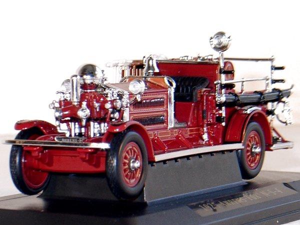AHRENS-FOX N-S-4 - 1925 - Firetruck - YATMING 1:43
