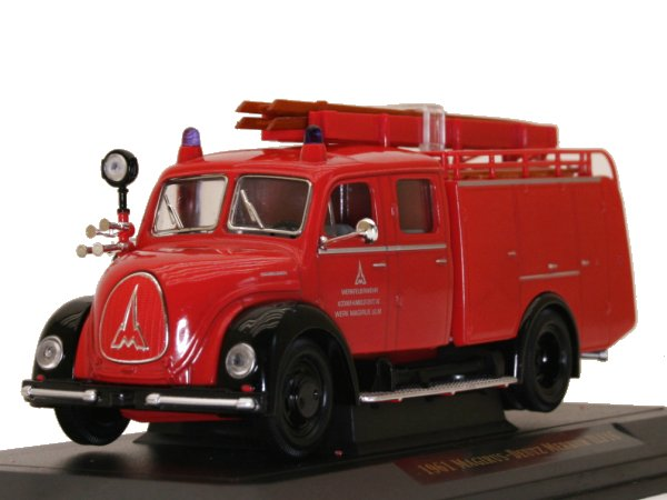 MAGIRUS-DEUTZ TFL-15 - 1961 - Firetruck - YATMING 1:43
